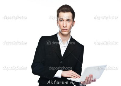 Александр, 20 лет, рост 188, 90 75 90, welcome  - depositphotos_9472174-Man-with-laptop.jpg